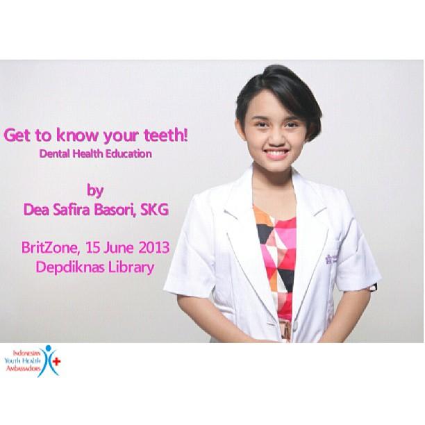Conducting Dental Health Education in ENGLISH again