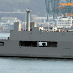 The KRI MAKASSAR 590
