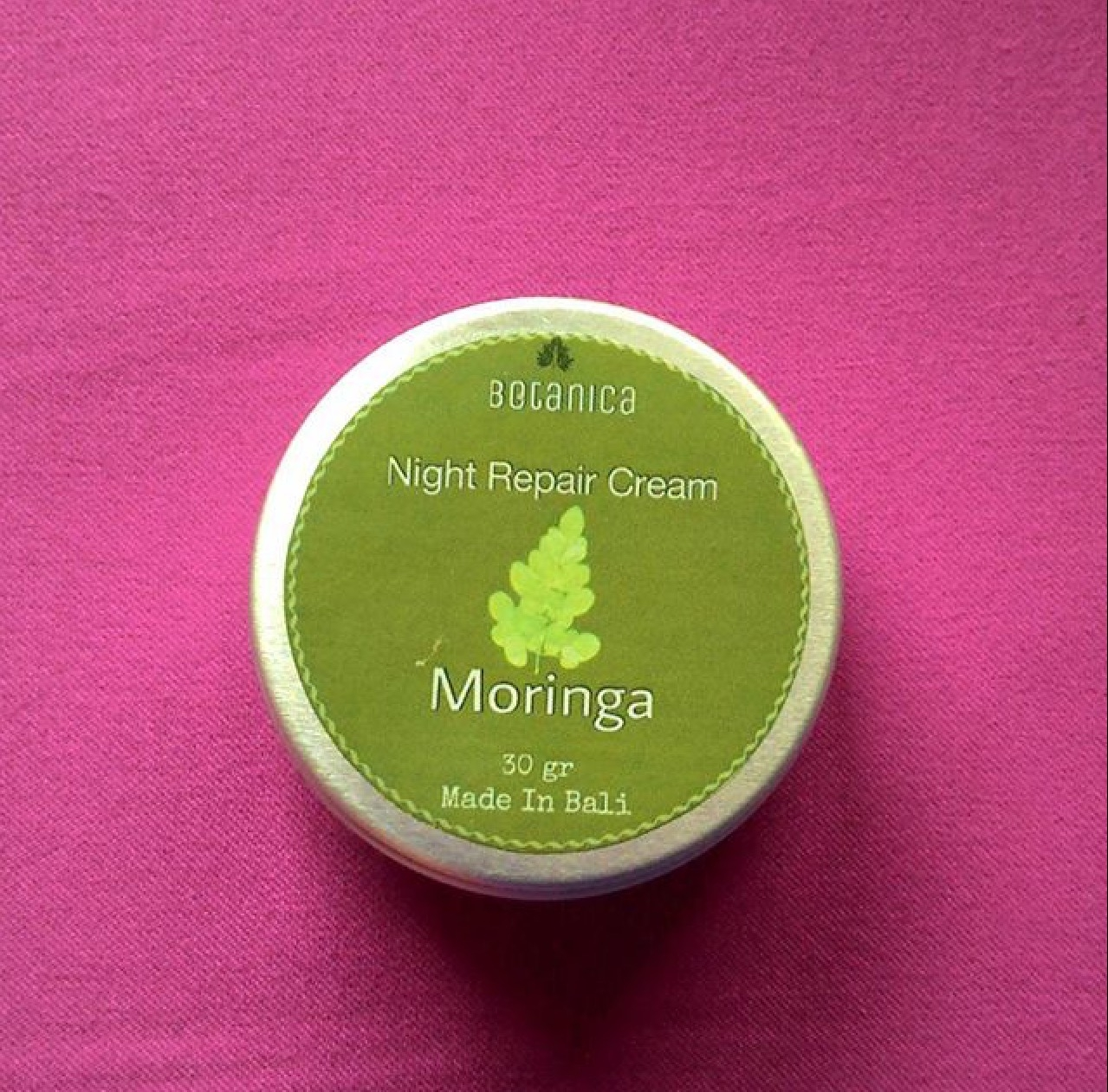 Product Review: Moringa Night Cream by Botanica Essential